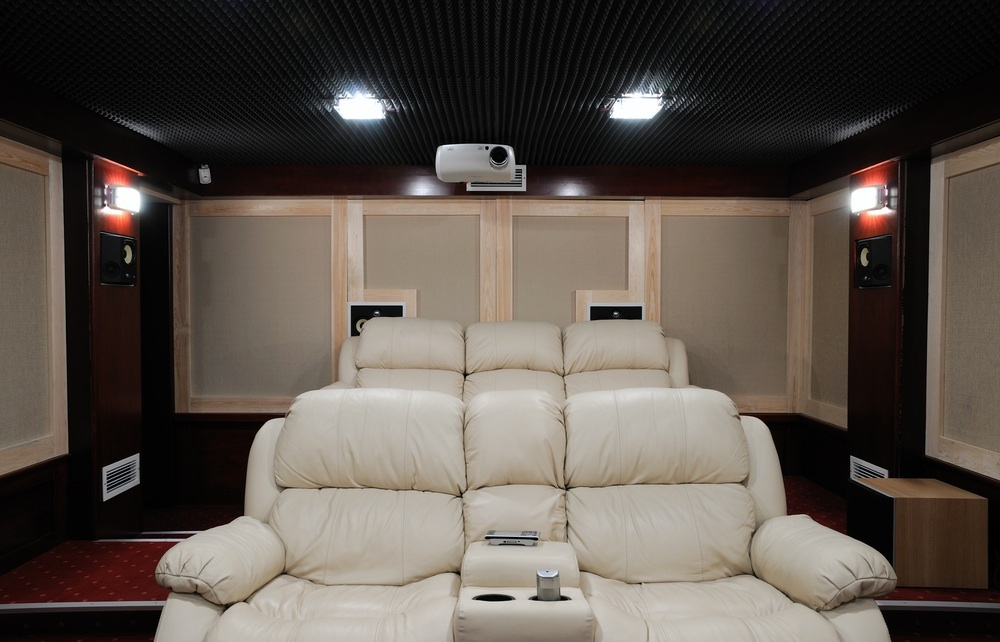 Elegant ... Media Room Cedar Park, TX Home Theater Systems